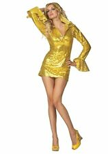 RG Costumes 81670 Dy-No-Mite Daisy Gold