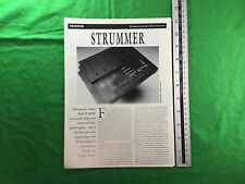 Oberheim Perf/X Midi Processeur Strummer 1991 Feature article créer Guitar Parts