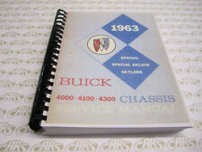 1963 Buick Shop Manual. Special Skylark