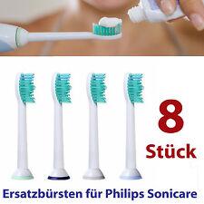 8 Ersatzbürsten Aufsteckbürsten für Philips Sonicare ProResults HX6014