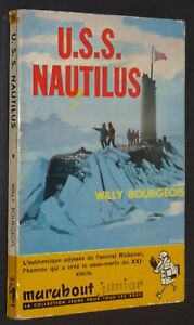 MARABOUT JUNIOR N°157 EO 1959 U.S.S. NAUTILUS WILLY BOURGEOIS AMIRAL RICKOVER