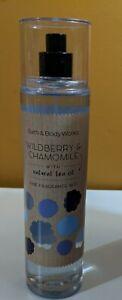 Bath & Body Works WILDBERRY CHAMOMILE Fine Fragrance Mist 8oz NEW