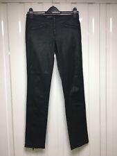 Women's Kate Moss for Topshop black Biker Jeans size 8