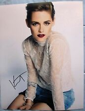 KRISTEN STEWART SIGNED 11x14 PHOTO DC/COA ( TWILIGHT ) AUTOGRAPH (PROOF)