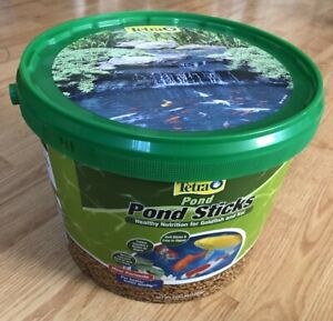 TetraPond Pond Sticks 2.65 Pounds, Pond Fish Food, For Goldfish And Koi