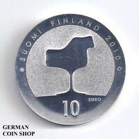 Finnland 10 € 2010 Geburtstag Eero Saarinen PP Silber - Finland Suomi Silver