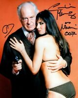 CAROLINE MUNRO signed Autogramm 20x25cm JAMES BOND In Person autograph COA