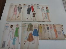 6 Vintage Vouge Womens Sewing Patterns Uncut