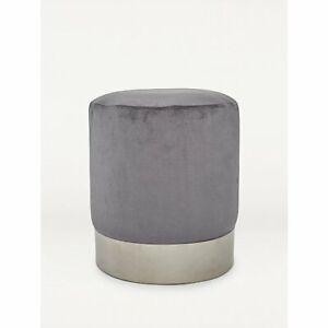 Velvet Stool - Pink or Grey