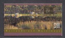 Australia 1992 Wetlands and Waterways 1K Booklet ($2.00) O/PT - B169bA(1)
