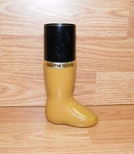 Genuine Avon All Purpose Cologne Spray Leather/Tan Boot Decanter Only *Read*