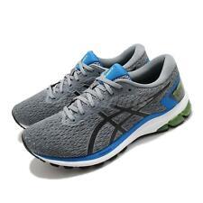 Asics GT-1000 9 Ancho Gris Azul Negro Blanco Hombres Zapatilla Zapato de correr 1011A813-024