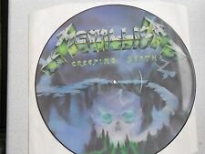 "METALLICA, ""CREEPING DEATH"". 1ST ISSUE 12"" VINYL PICTURE DISC. NO BARCODE, MINT."