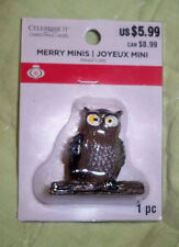 "Celebrate It*Merry Minis*OWL""1.5"""