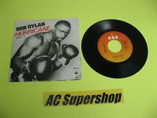 "Bob Dylan hurricane part1and 2 - 45 Record Vinyl Album 7"""