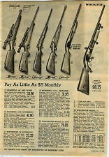 1951 ADVERTISEMENT Rifle Mossberg Winchester Sheridan Pneumatic Daisy Air Gun