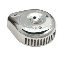 S&S CHROME SLASHER TEARDROP AIR CLEANER COVER SUPER E/ G CARBS HARLEY 1014-0040