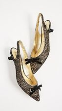Marc Jacobs Abbey Slingback Pumps in Gold (Size 38)