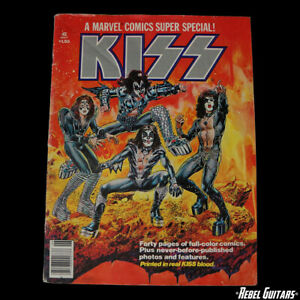 1978 KISS Marvel Super Special #1 Comic - KISS Blood in Ink  - Vintage Aucoin