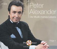 PETER ALEXANDER - 4 CD - DIE MUSIK MEINES LEBENS - Folge 1