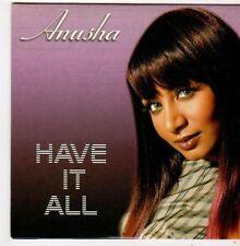 (FJ75) Anusha, Have It All - 2008 DJ CD
