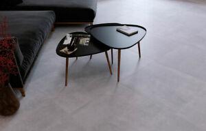 CUT-SAMPLE £18.89m2 60x60 Concrete Grey Matt Porcelain Tile Anti Slip Floor/Wall