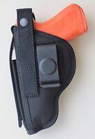 """Gun Holster Belt Clip-on for Ruger SR9E pistol with 4.14"""" Barrel without laser"""