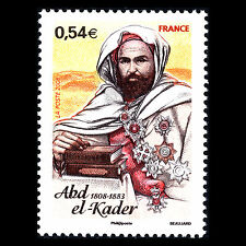 France 2008 - 200th Anniversary of the Birth of Abd El Kader - Sc 3414 MNH
