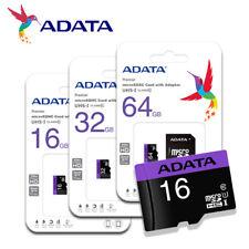 ADATA Premier 16GB/32GB/64GB microSDHC/SDXC Memory Card C10 UHS-I + free Adapter