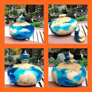 Decorative Epoxy Pot vase - hand made beautiful,high quality - LOT 01