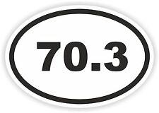 Metà Ironman 70.3 miglia OVALE ADESIVO Triathlon eseguire Swim Bike Ride Corsa 113.0 km