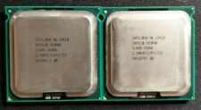 Matching Pair Intel Xeon L5420 2.5GHz 12M 1333MHz LGA771 Quad Core CPUs