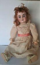 """Antique 164 German Bisque Doll, 26"""", Kestner or Simon Halbig (?)"""