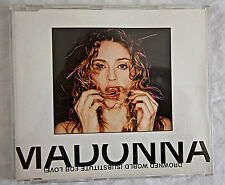 MADONNA Drowned World / Substitute UK CD SINGLE (CD 2) W0453CD2. EX. CONDITION