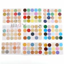 160 pcs Beautiful Waterproof Round Stickers Essential Oil Bottle Stickers Labels