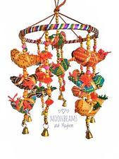 Fabuleux Nouveau indienne commerce équitable oiseau Mobile/Chimes bohème hippie carillons