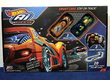 New HOT WHEELS Ai SMART CARS - Intelligent Race System 2 CARS & CONTROLLERS 2.4