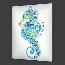Hippocampe en Toile Imprimé Photo Wall Art Abstrait Décoration Large 36 x 24 In (environ 60.96 cm)