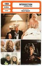 FICHE CINEMA : INTERSECTION - Gere,Stone,Davidovich,Rydell 1994