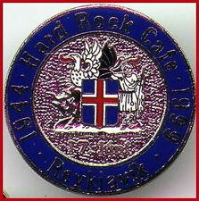 Hard Rock Cafe REYKJAVIK 1999 National Day COAT of ARMS PIN - HRC Catalog #7833