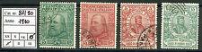 Regno - 1910 - Garibaldi  - Serie completa usata - Sassone nn.87/90