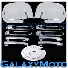 Dodge Ram 1500+2500+3500+HD Chrome Mirror+4 Door Handle No PSG KH+Gas Fuel Cover