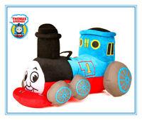 LARGE 9' THOMAS THE TANK ENGINE SOFT TRAIN PLUSH BEAR DOLL KID CHILD STUFFED TOY