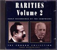CONDON COLLECTION RARITIES 2 Strauss Falla Faure Scriabin Laparra Grainger CD