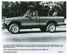 1989 Dodge Dakota Convertible Droptop Truck Photo Poster zch4626