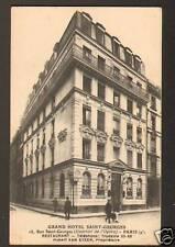 PARIS IX° : HOTEL GEORGES DE BARCELONE Prop. VAN EYKEN en 1946