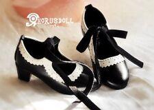 [STOCK]HS0051 HORUS DOLL shoes bjd super dollfie 1/3 black color