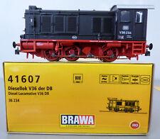 BRAWA 41607, DB V 36 234 schwarz, AC-Digital-Sound u.Digi-Kupplg., H0, NEU+OVP