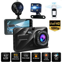 "4"" Vehicle 1080P For Truck Dashboard DVR Camera Video Recorder Dash Cam G-Sensor"