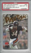 1993 Action Packed All-Madden 24K GOLD - 6G - Walter PAYTON - PSA 10+++ x/1750